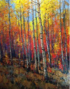 """""""Aspen Glory"""" by Allen Lund, Lunds Fine Art Gallery"""