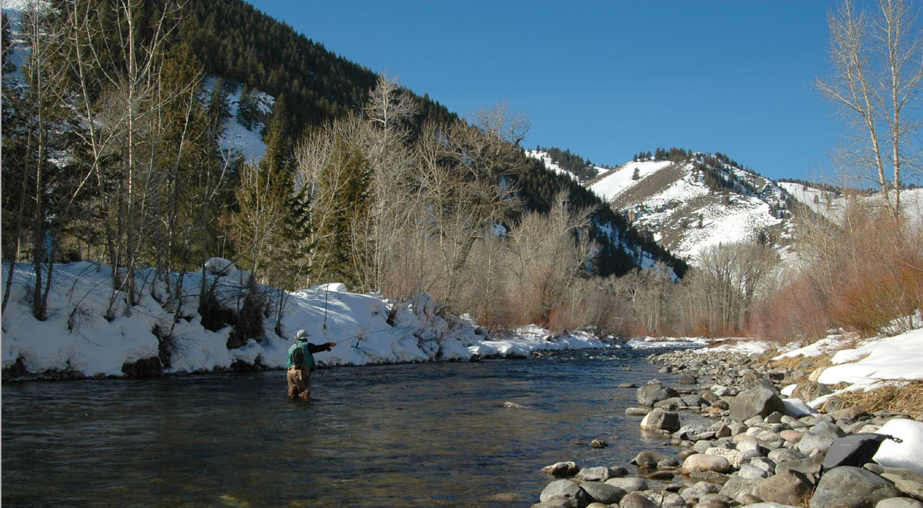 Utah winter fly fishing mountain express magazine park for Fly fishing park city utah