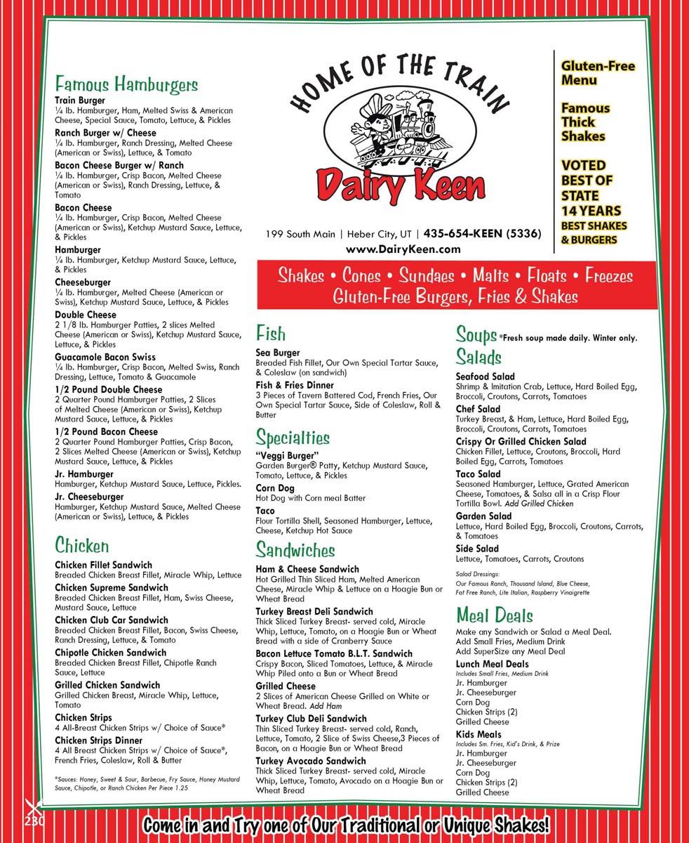 Dining Menus Mountain Express Magazine Park City S Best