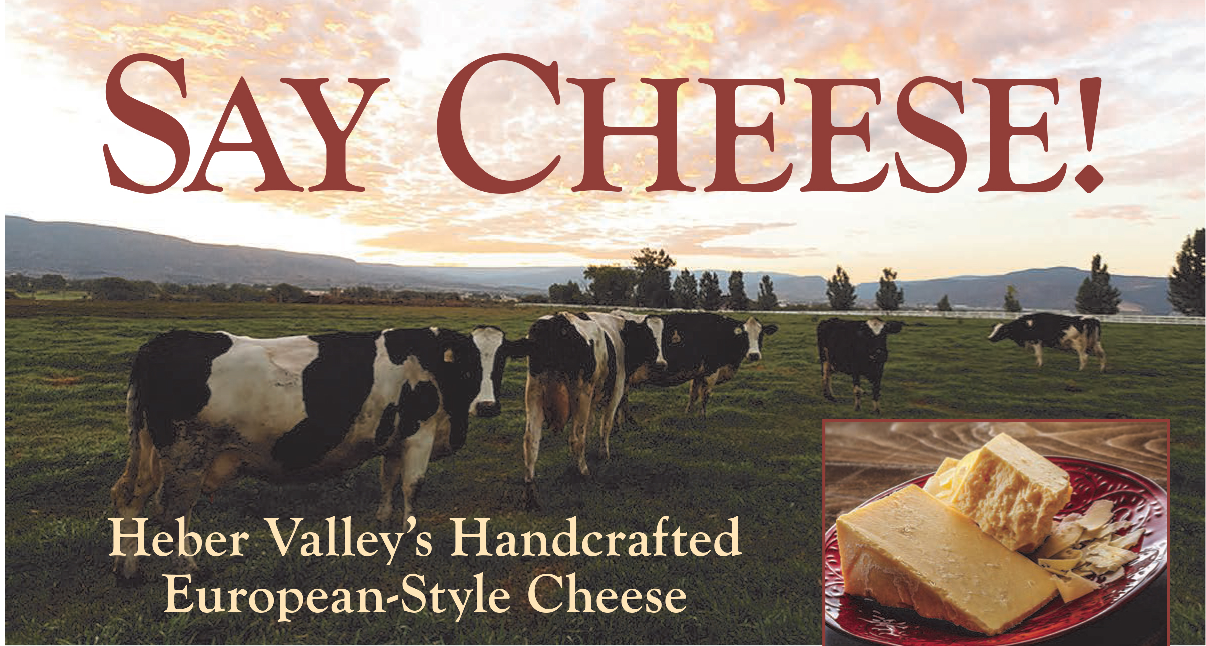 Heber Valley's Handcrafted European-Style Cheese - Mountain