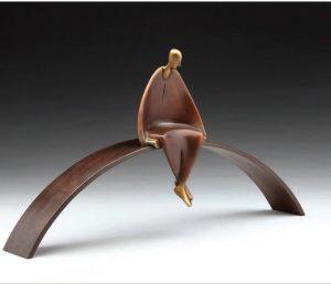 Meditation II by Carol Gold, Thomas Anthony Gallery