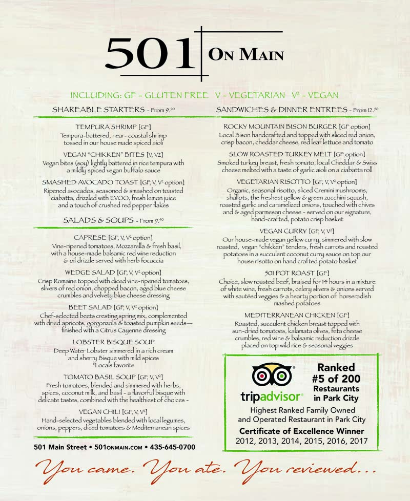 501 Main – Main Street Park City