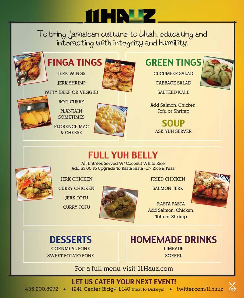 11 Hauz – Park City Jamaican Restaurant
