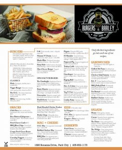 Burgers and Barley - Park City Casual Dining