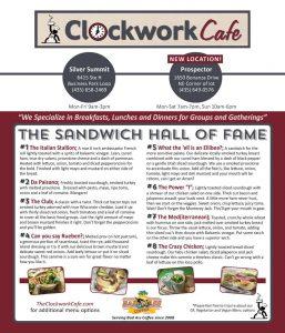The Clockwork Cafe - Prospector Park City