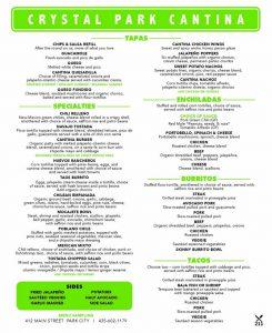 Crystal Park Cantina - Park City Mexican Food