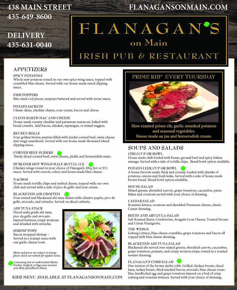 Flanagan's Irish Pub - Main Street Park City