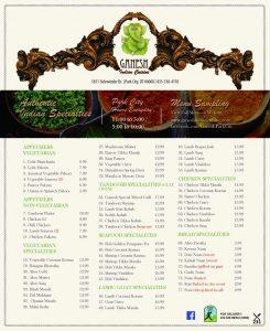 Ganesh Indian Cuisine - Park City