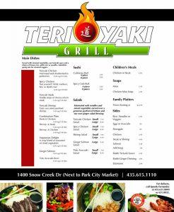 Teriyaki Grill - Park City