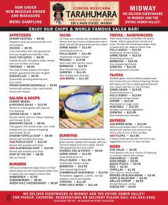 Tarahumara Restaurant - Midway, Ut