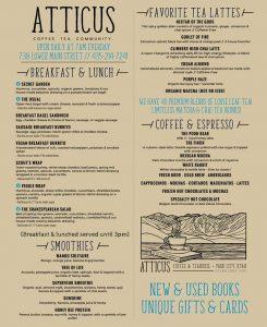 Atticus Coffee and Tea - Main Street Park City