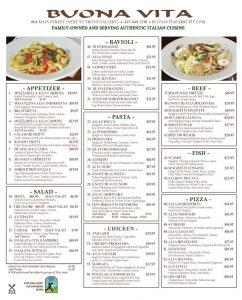 Buona Vita - Italian Restaurant - Main Street