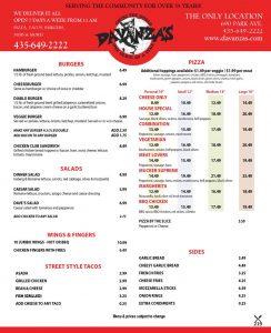 Davanza's Pizza and Italian - Park City