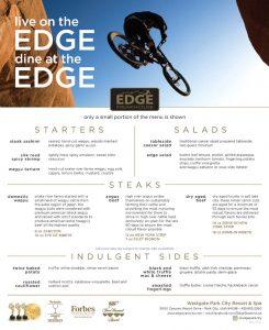 Edge Steakhouse - Westgate Park City