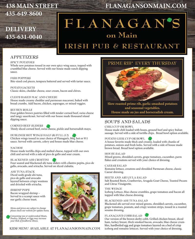 Flanagan's Irish Pub – Main Street Park City