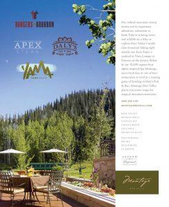 Montage Deer Valley - Montage Hotel Restaurants