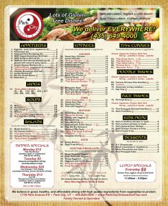 Park City Chinese and Thai - Prospector Square