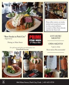 Prime Steak House & Piano Bar - Main Street