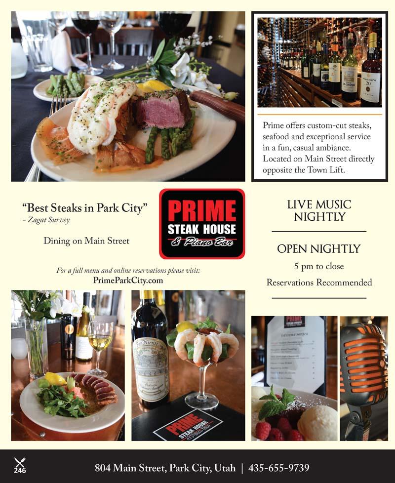 Prime Steakhouse & Piano Bar – Main Street