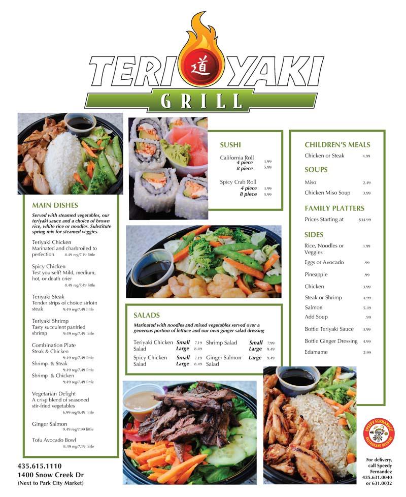Teriyaki Grill – Park City
