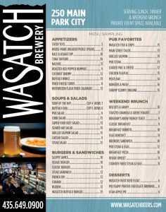Wasatch Brewery - Park City