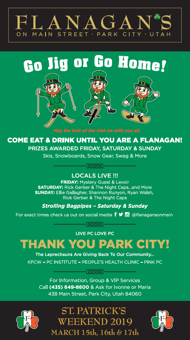Flanagans - St Patrick's Day in Park City