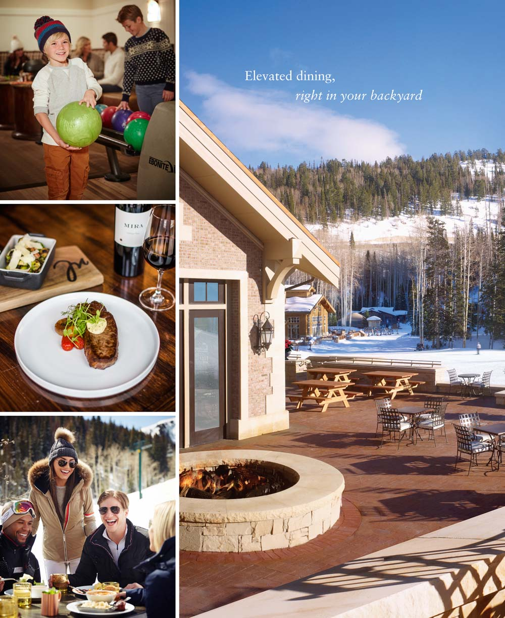 Montage Deer Valley – Burgers & Bourbon – Apex – Dalys Pub – Yama Sushi