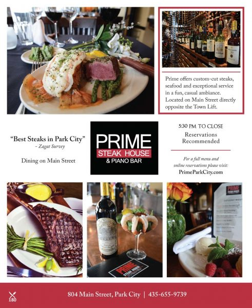 Prime Steakhouse & Piano Bar – Main Street
