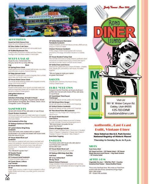 Road Island Diner – Oakley