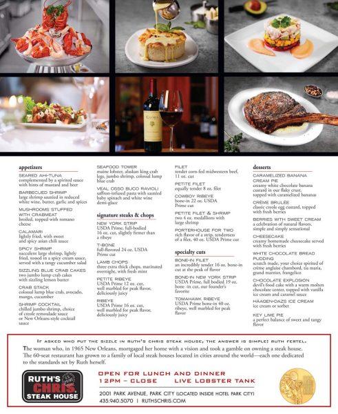 Ruth's Chris Steak House – Park City