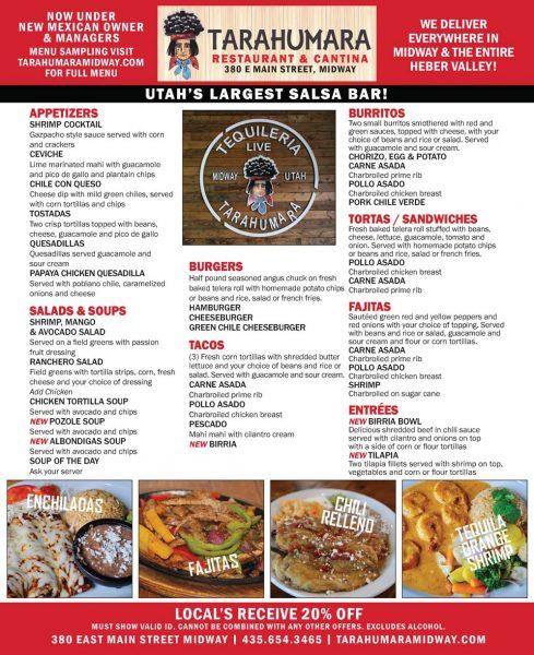Tarahumara Restaurant & Cantina – Midway Mexican Restaurants