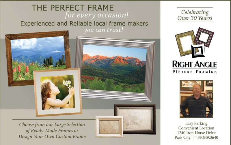 Right Angle Picture Framing