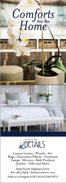 Details – Comforts for the Home