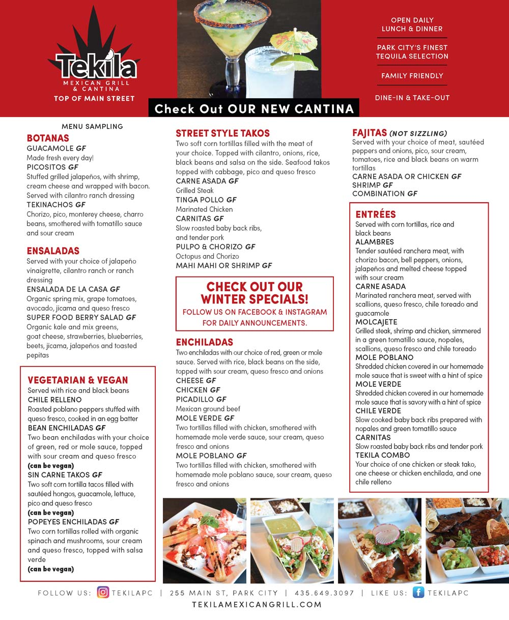 Tekila Mexican Grill and Cantina – Main Street