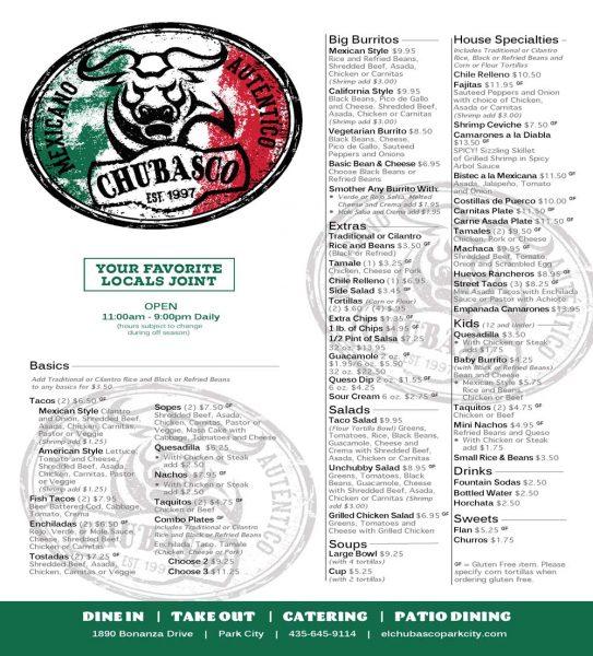El Chubasco Mexican Grill