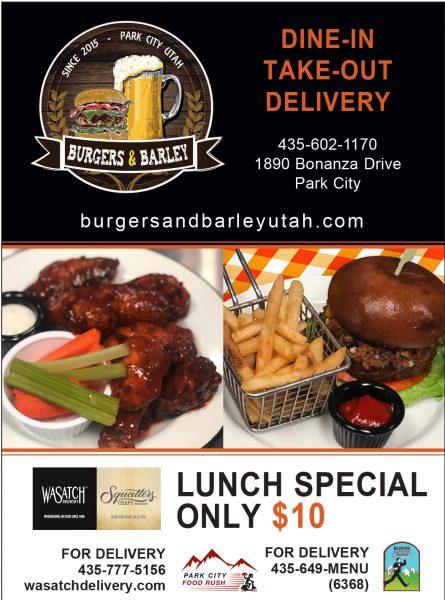 Burgers and Barley – Park City