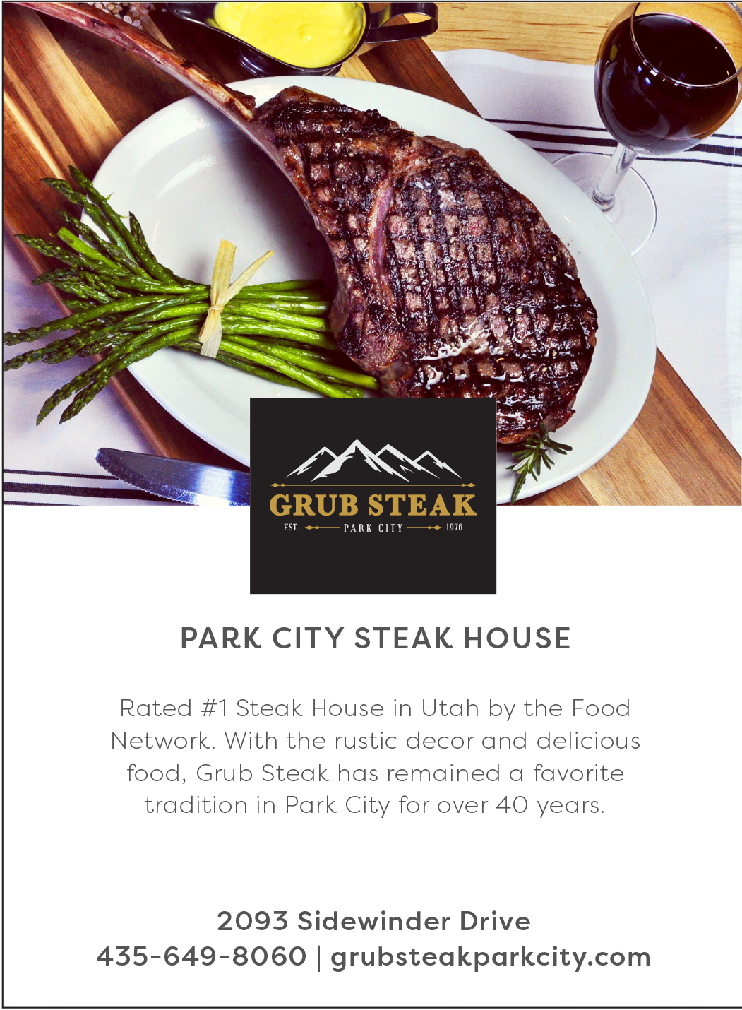 Grub Steak Park City