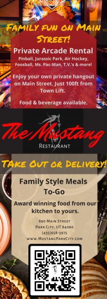 Mustang Restaurant – Park City  Dining