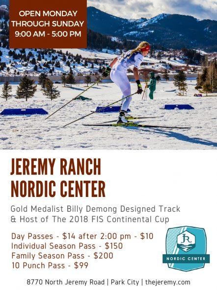 Jeremy Ranch Nordic Center