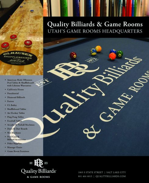 Quality Billiards & Game Rooms